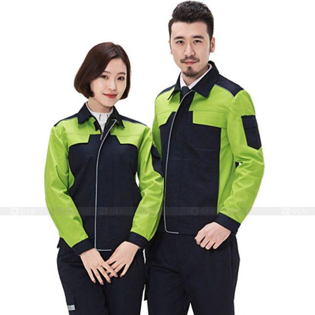 Quan ao dong phuc bao ho GLU X364 đồng phục công nhân xây dựng