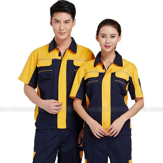 Quan ao dong phuc bao ho GLU X365 đồng phục công nhân xây dựng