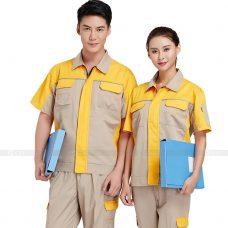 Quan ao dong phuc bao ho GLU X385 Đồng Phục Bảo Hộ Lao Động