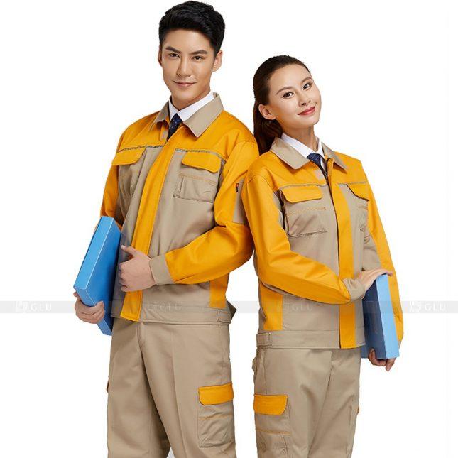 Quan ao dong phuc bao ho GLU X396 đồng phục công nhân xây dựng