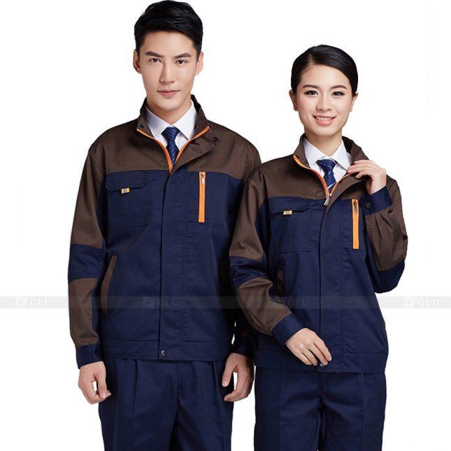 Quan ao dong phuc bao ho GLU X400 đồng phục công nhân xây dựng