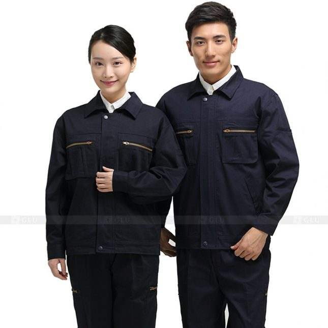 Quan ao dong phuc bao ho GLU X405 đồng phục công nhân xây dựng