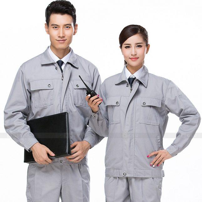 Quan ao dong phuc bao ho GLU X410 đồng phục công nhân xây dựng