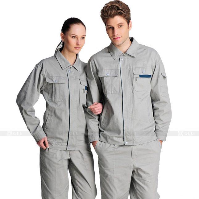 Quan ao dong phuc bao ho GLU X431 đồng phục công nhân xây dựng
