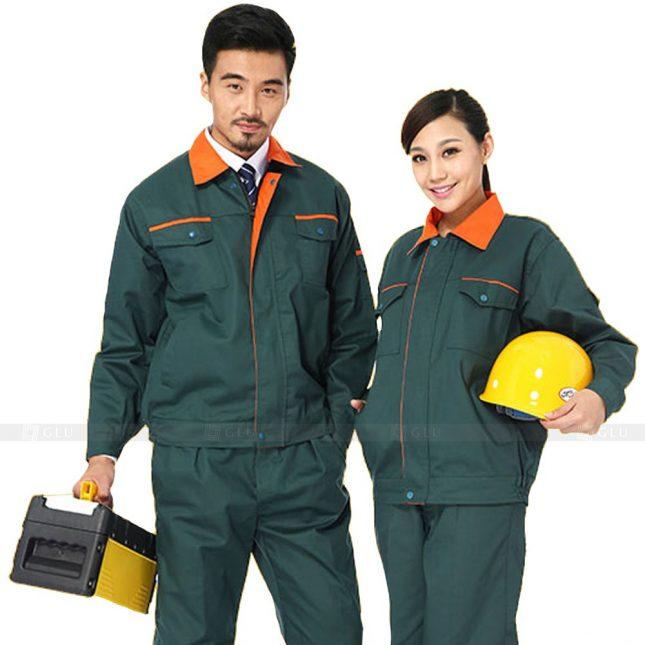 Quan ao dong phuc bao ho GLU X432 đồng phục công nhân xây dựng