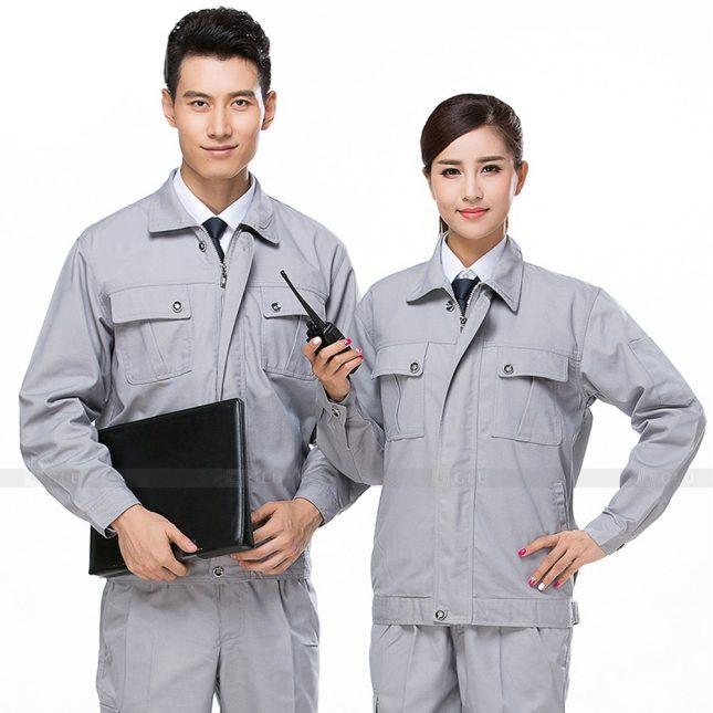 Quan ao dong phuc bao ho GLU X434 đồng phục công nhân xây dựng