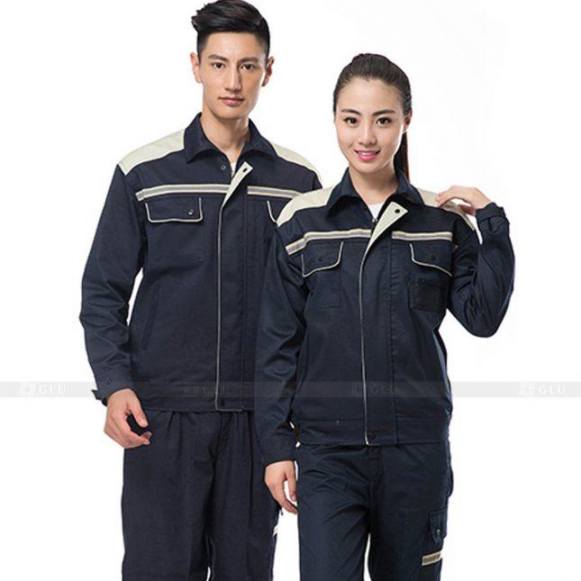 Quan ao dong phuc bao ho GLU X441 đồng phục công nhân xây dựng