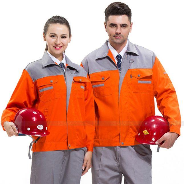 Quan ao dong phuc bao ho GLU X443 đồng phục công nhân xây dựng
