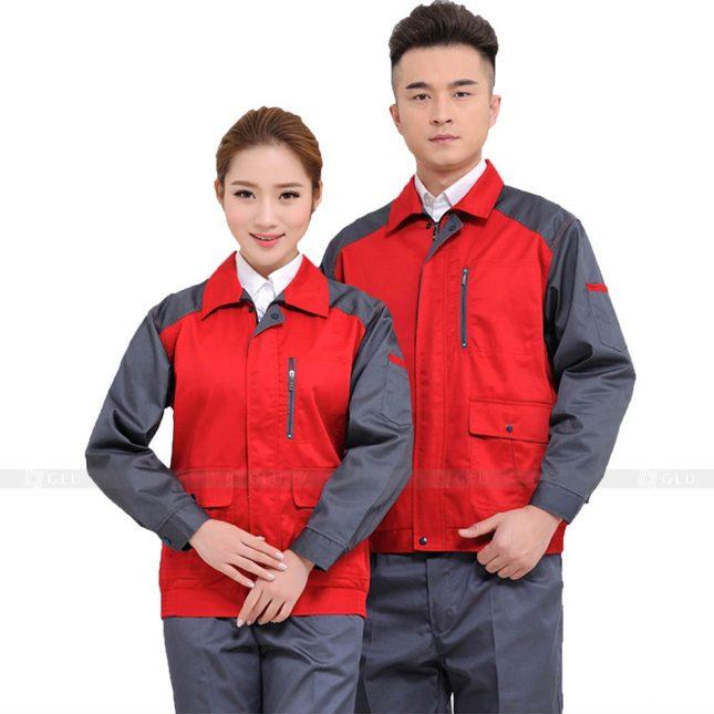 Quan ao dong phuc bao ho GLU X445 đồng phục công nhân xây dựng