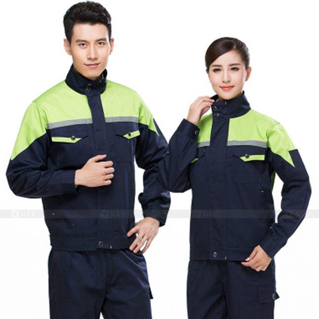 Quan ao dong phuc bao ho GLU X451 đồng phục công nhân xây dựng