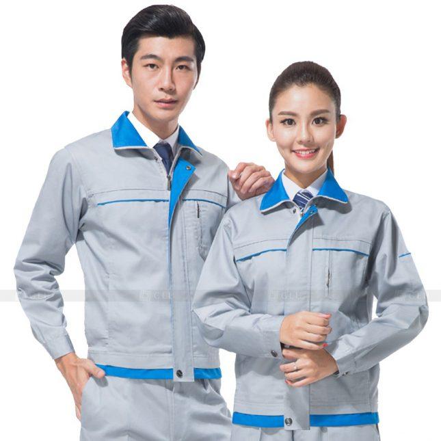 Quan ao dong phuc bao ho GLU X453 đồng phục công nhân xây dựng