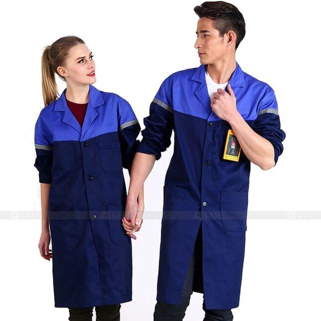Quan ao dong phuc bao ho GLU X463 áo công nhân