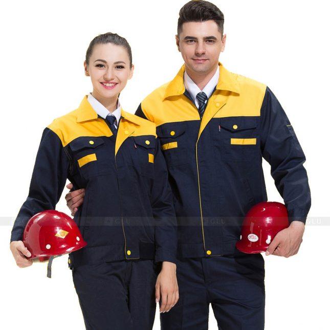 Quan ao dong phuc bao ho GLU X469 áo công nhân