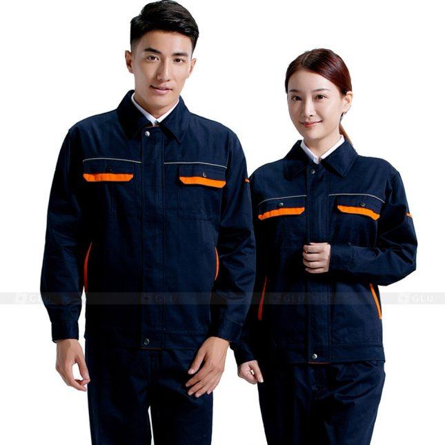 Quan ao dong phuc bao ho GLU X481 áo công nhân
