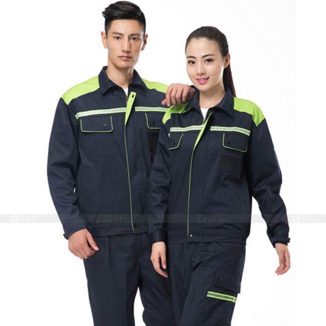 Quan ao dong phuc bao ho GLU X500 đồng phục công nhân xây dựng