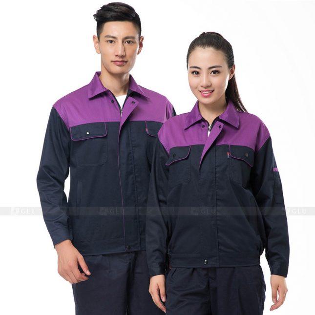 Quan ao dong phuc bao ho GLU X508 đồng phục công nhân xây dựng