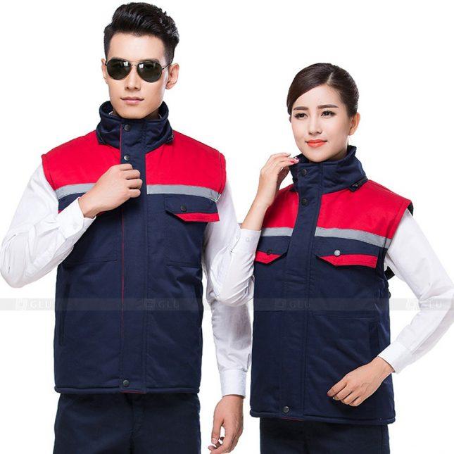 Quan ao dong phuc bao ho GLU X513 đồng phục công nhân xây dựng