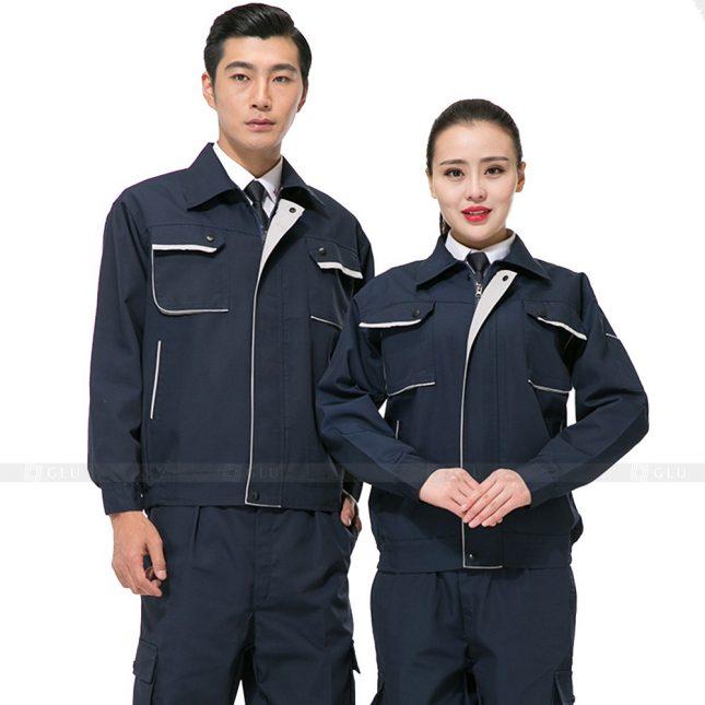 Quan ao dong phuc bao ho GLU X526 đồng phục công nhân xây dựng