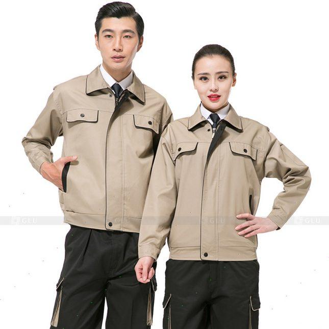 Quan ao dong phuc bao ho GLU X540 đồng phục công nhân xây dựng