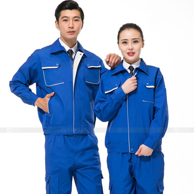 Quan ao dong phuc bao ho GLU X550 đồng phục công nhân xây dựng