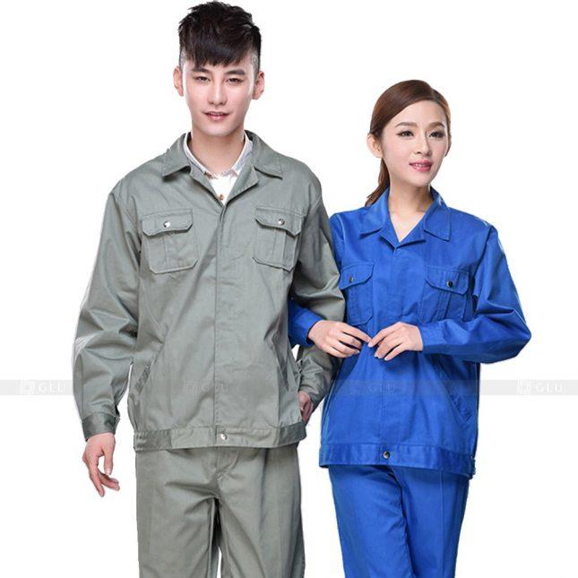 Quan ao dong phuc bao ho GLU X551 đồng phục công nhân xây dựng