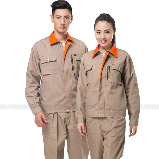 Quan ao dong phuc bao ho GLU X552 đồng phục công nhân xây dựng