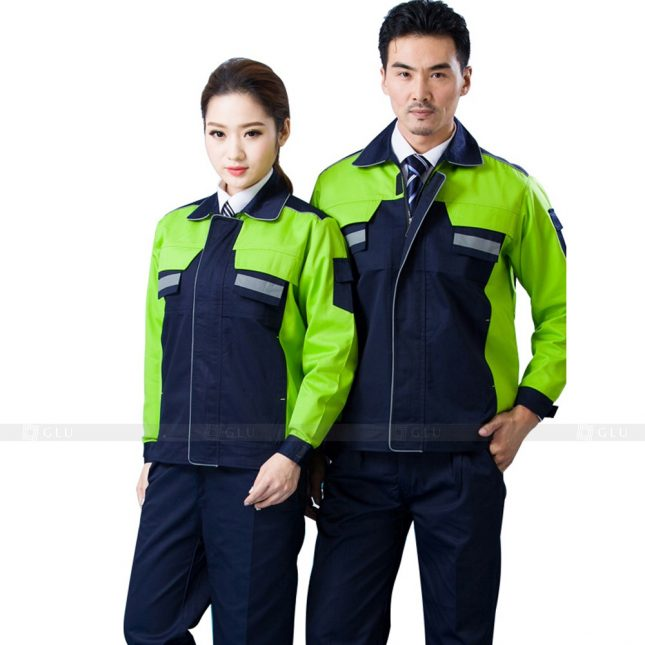 Quan ao dong phuc bao ho GLU X553 đồng phục công nhân xây dựng