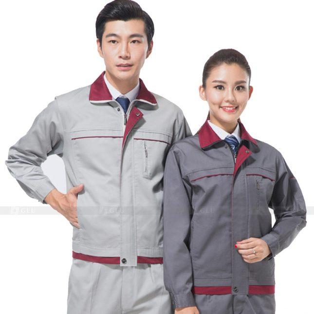 Quan ao dong phuc bao ho GLU X571 đồng phục công nhân xây dựng