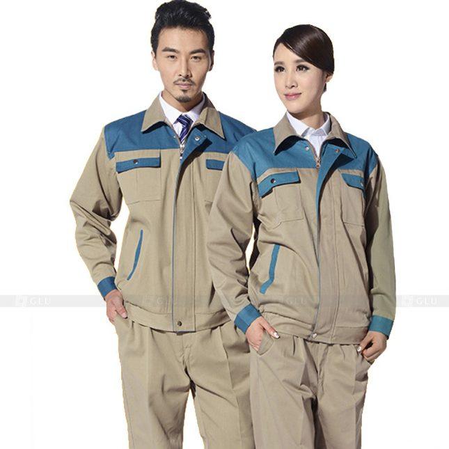 Quan ao dong phuc bao ho GLU X575 đồng phục công nhân xây dựng