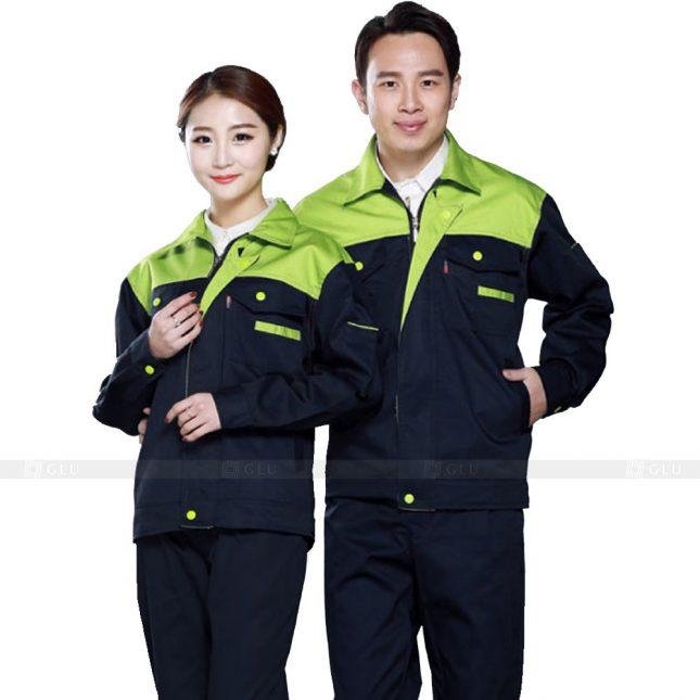 Quan ao dong phuc bao ho GLU X588 đồng phục công nhân xây dựng