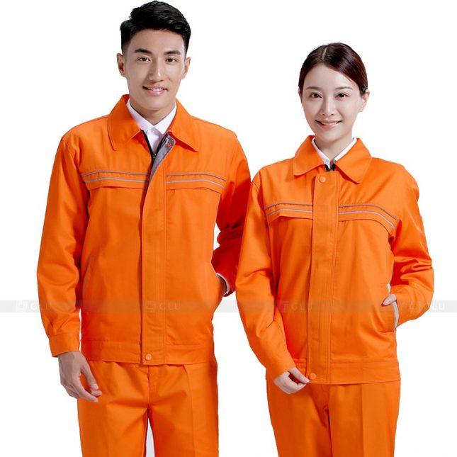 Quan ao dong phuc bao ho GLU X591 đồng phục công nhân xây dựng