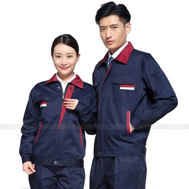 Quan ao dong phuc bao ho GLU X594 đồng phục công nhân xây dựng