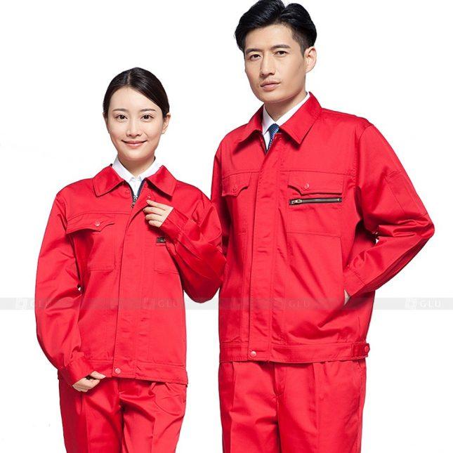 Quan ao dong phuc bao ho GLU X598 đồng phục công nhân xây dựng