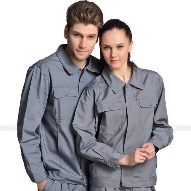 Quan ao dong phuc bao ho GLU X604 đồng phục công nhân xây dựng