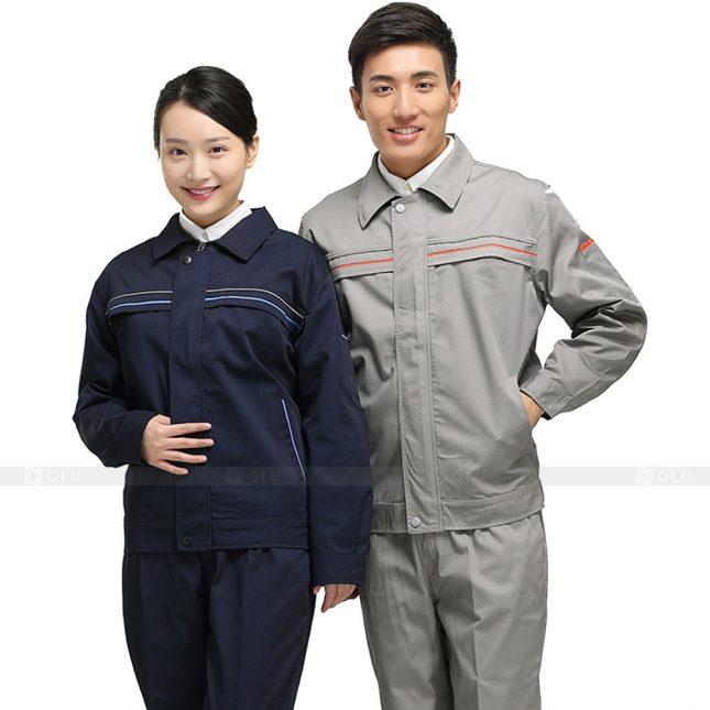 Quan ao dong phuc bao ho GLU X606 đồng phục công nhân xây dựng