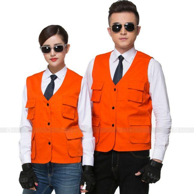 Quan ao dong phuc bao ho GLU X616 đồng phục công nhân xây dựng