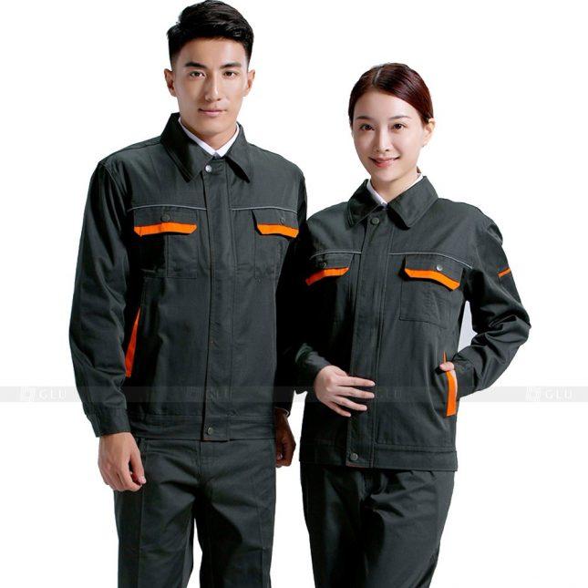 Quan ao dong phuc bao ho GLU X621 đồng phục công nhân xây dựng