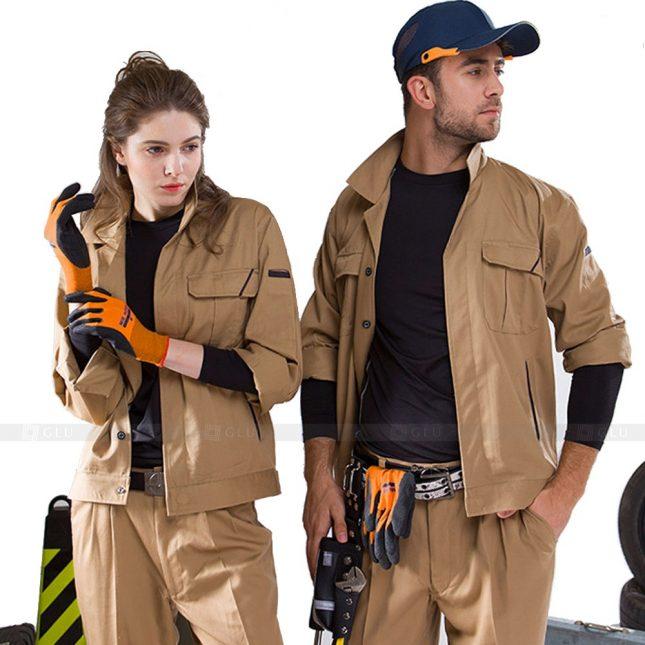 Quan ao dong phuc bao ho GLU X625 đồng phục công nhân xây dựng