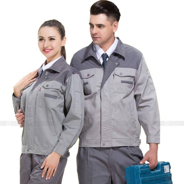 Quan ao dong phuc bao ho GLU X626 đồng phục công nhân xây dựng