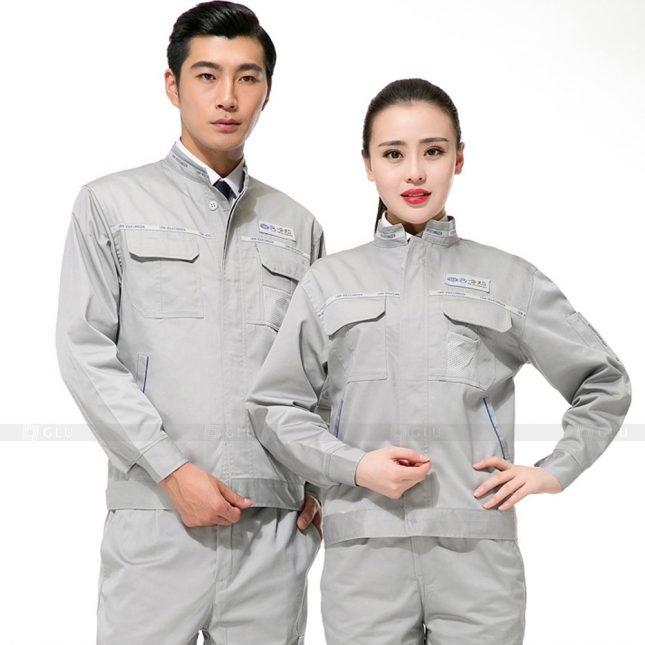 Quan ao dong phuc bao ho GLU X628 đồng phục công nhân xây dựng