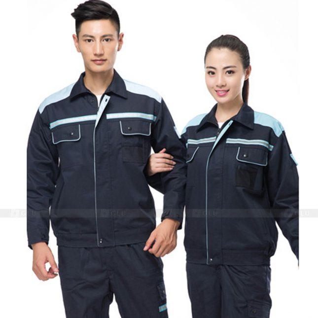 Quan ao dong phuc bao ho GLU X632 đồng phục công nhân xây dựng