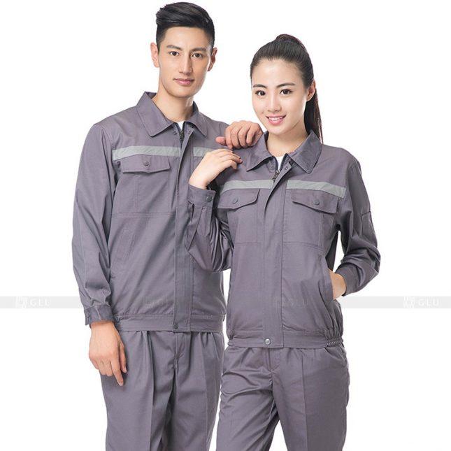Quan ao dong phuc bao ho GLU X634 đồng phục công nhân xây dựng
