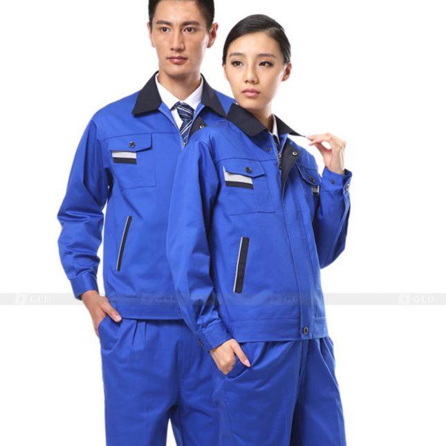 Quan ao dong phuc bao ho GLU X641 đồng phục công nhân xây dựng