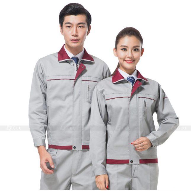 Quan ao dong phuc bao ho GLU X649 đồng phục công nhân xây dựng