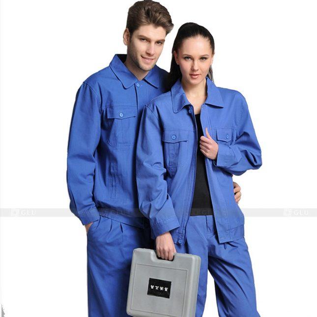 Quan ao dong phuc bao ho GLU X651 đồng phục công nhân xây dựng