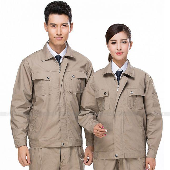 Quan ao dong phuc bao ho GLU X652 đồng phục công nhân xây dựng