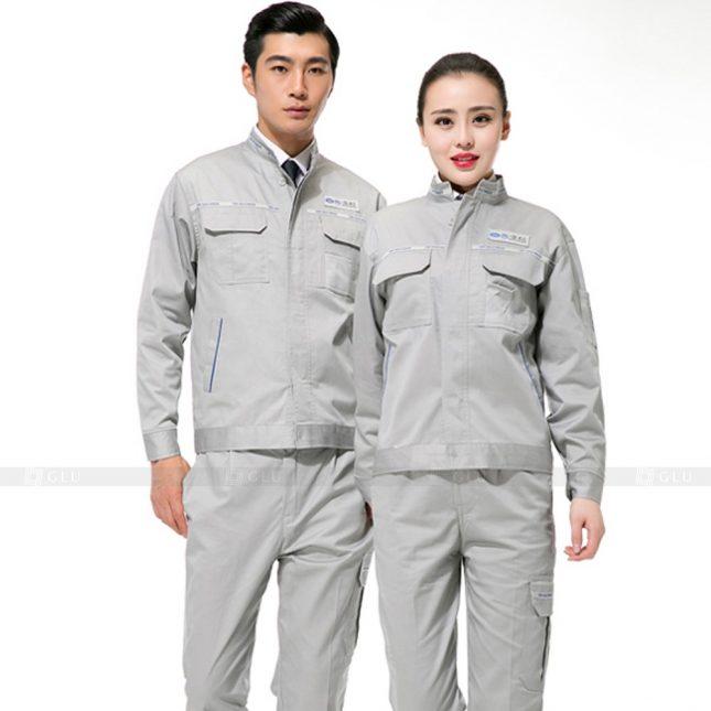Quan ao dong phuc bao ho GLU X664 đồng phục công nhân xây dựng