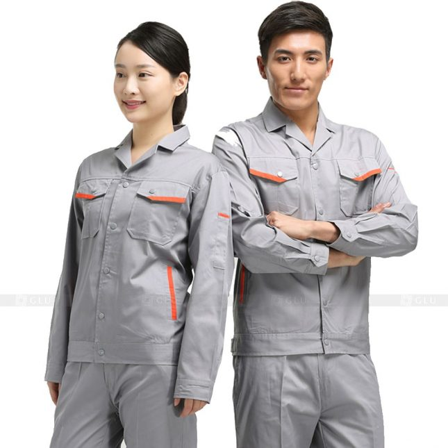 Quan ao dong phuc bao ho GLU X666 đồng phục công nhân xây dựng