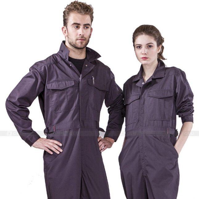 Quan ao dong phuc bao ho GLU X682 đồng phục công nhân xây dựng