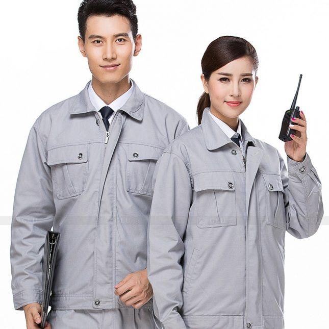 Quan ao dong phuc bao ho GLU X684 đồng phục công nhân xây dựng